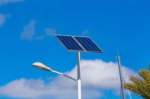 Cột đèn năng lượng mặt trời