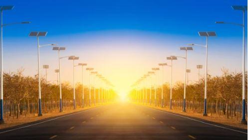 Đường phố năng lượng mặt trời
