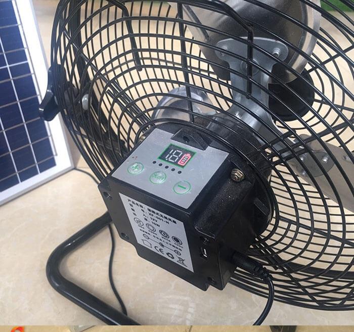 Quạt chạy bằng năng lượng mặt trời JD-S8800 4