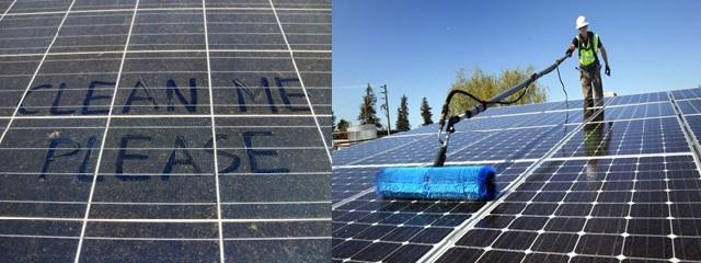 Tại sao cần vệ sinh tấm Pin năng lượng mặt trời ?