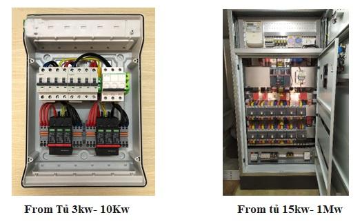 Đơn vị cung cấp tủ điện năng lượng mặt trời uy tín và giá tốt ?